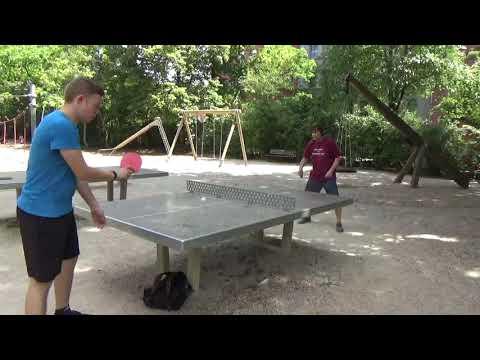 Tischtennis An Der Frauenschule Fuerth  Mit Den Steinb     An Der Steinplatte 20190619  34
