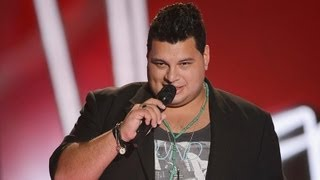 Oscar Chavez Sings Bed Of Roses: The Voice Australia Season 2