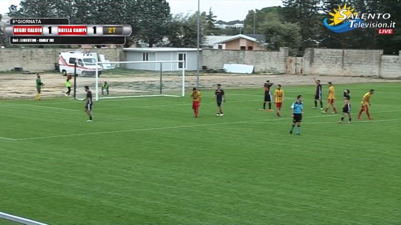 248890fc1 Video: Deghi calcio vs Brilla Campi 1-1 gol : Libertini (D) Carlà (B),  Salento Television Live ! Gli Eventi in giro per il Sud Italia !