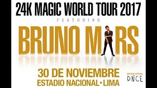 Bruno Mars 24k Magic World Tour Lima - Intro