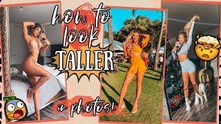 HOW TO LOOK TALLER IN PHOTOS   Short Girl Hacks