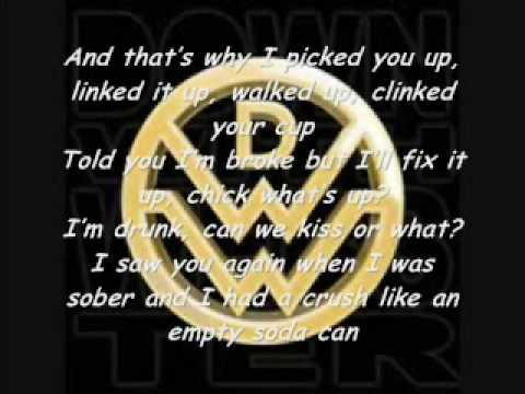 Down With Webster- Your Man with lyrics