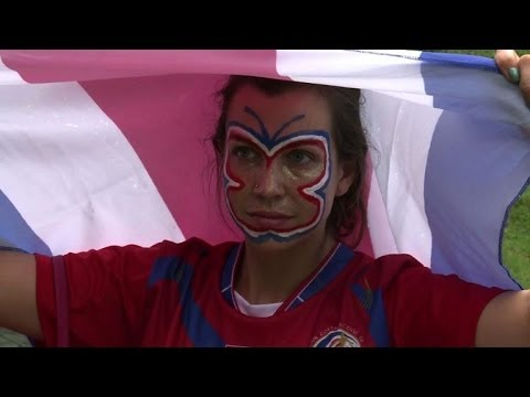 World Cup: Fans Gear Up For The Dutch-Los Ticos Match