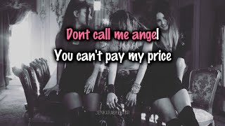 Ariana Grande, Miley Cyrus, Lana Del Rey - Don't Call Me Angel [Karaoke/Instrumental]