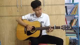 Guitar solo | Cô Gái M52 - Huy ft. Tùng Viu | Tú Owen