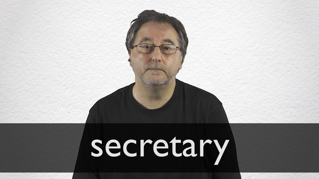 "Hindi Translation of ""secretary"" 