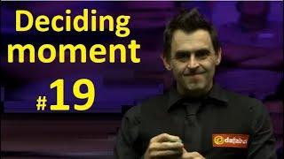 O'Sullivan -vs- Bingham ●🏆Masters 2019🏆● Deciding moment #19