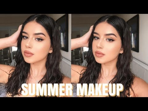 SWEATPROOF SUMMER MAKEUP LOOK | Amanda Diaz thumbnail