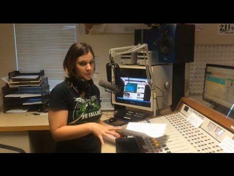 A Behind-the-Scenes Look Inside the Radio Station