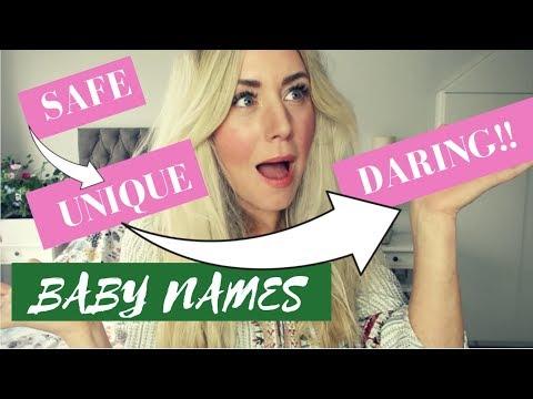 UNIQUE & DARING ALTERNATIVES TO POPULAR BABY NAMES | SJ STRUM