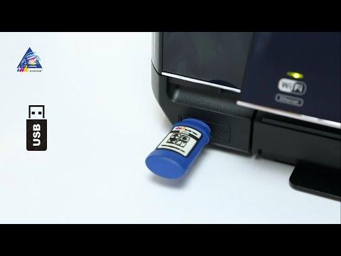 Печать документов и фото с флешки