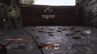 HOW TO GET PARATROOPERS ON COD WW2!!!