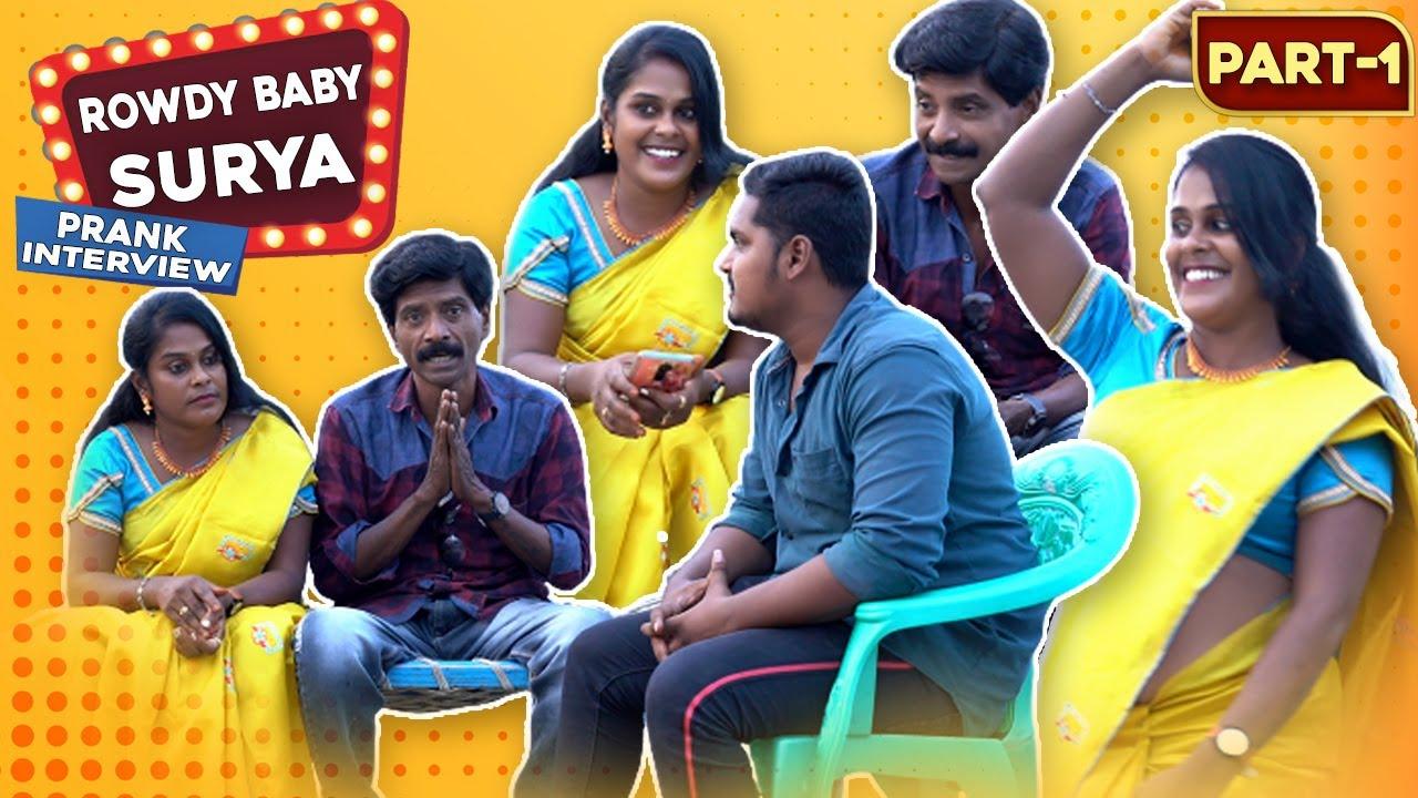 Rowdy Baby Surya prank Interview | Tamil Prank Interview | Tamil Medium Pasanga Prank | Jaaimanivel