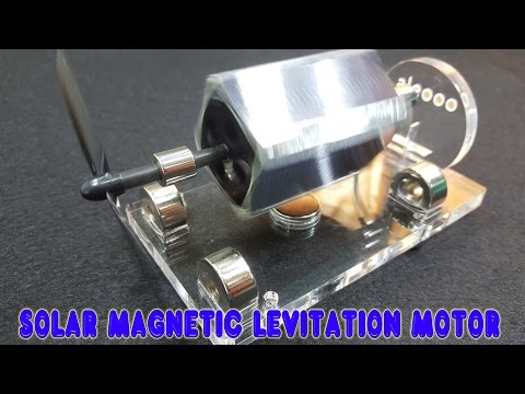 Solar Mendocino Motor Magnetic | Educational Toy