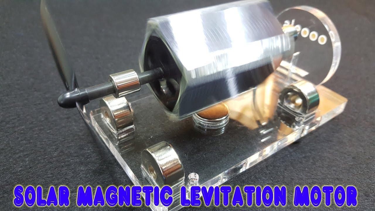 MENDOCINO MOTOR magnetic levitation motor solar motor science toy