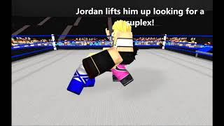 ROBLOX: Jordan Milly vs Danny Albarn (Intercontinental Championship Match)