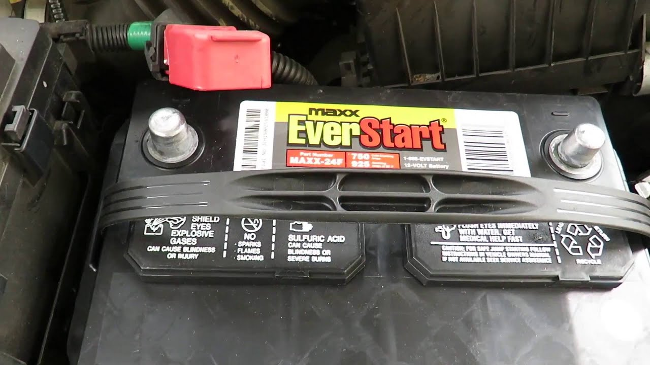 How to change the battery on  honda odyssey also youtube rh