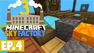 Minecraft Sky Factory 3 - MASSIVE CHEST! #4 [Modded Skyblock]