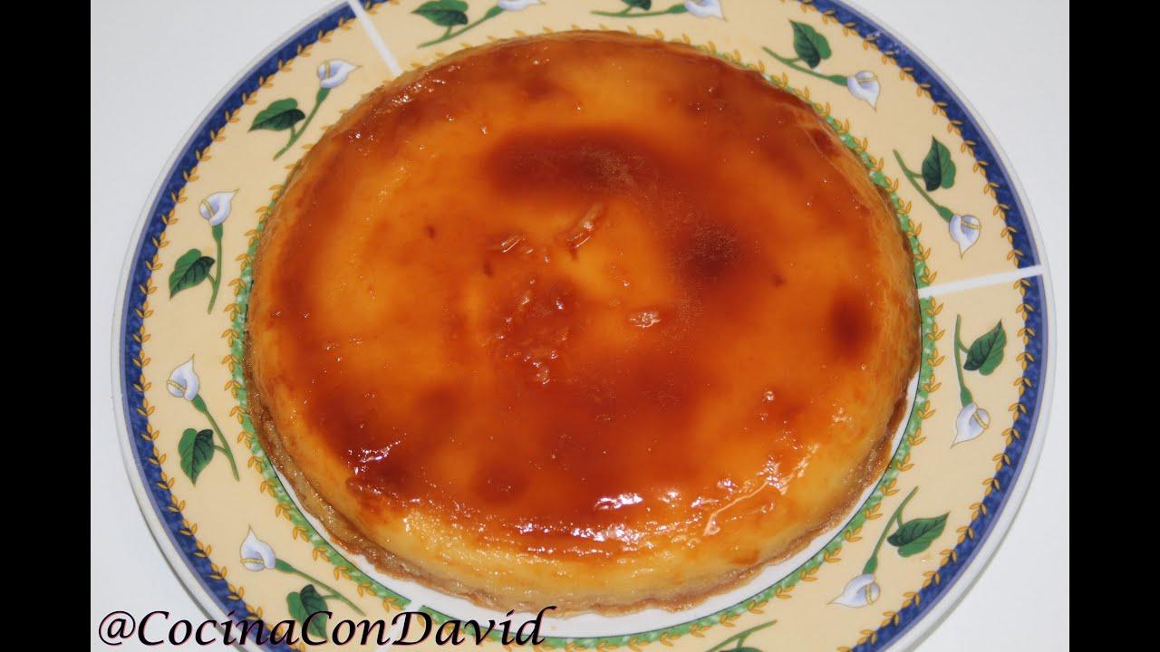 Flan de galleta al microondas cocina con david youtube for Cocina al microondas