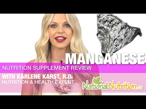 Professional Supplement Review - Manganese