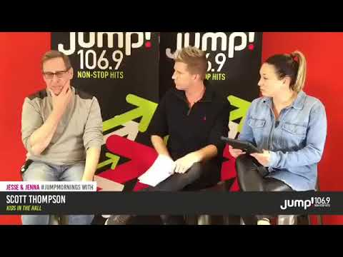 Scott Thompson from Kids in The Hall with Jesse & Jenna