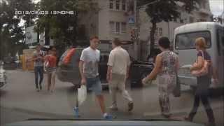 #4 Пешеходы-нарушители не хотят жить? / Idiots!