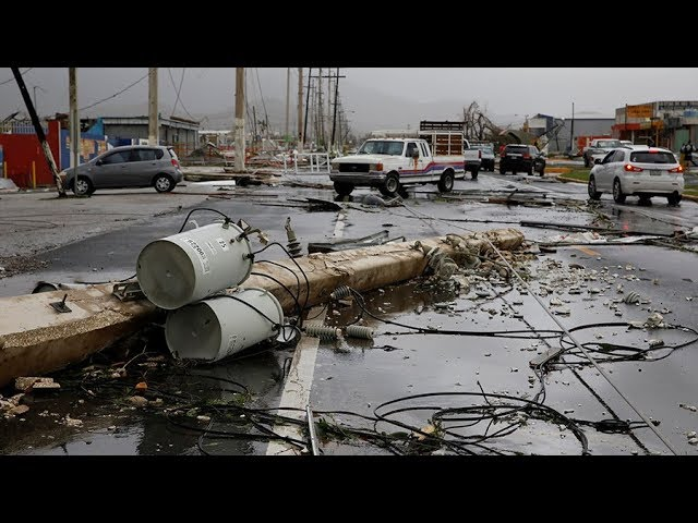 Puerto Ricans may not get power back for half a year – officials
