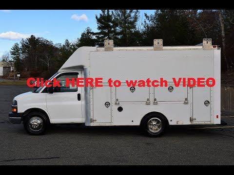 2012 Chevrolet Express Enclosed Utility Van 6.0L Gas