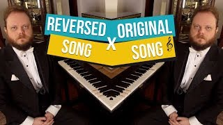 Can You Recognize These Songs When Played Backwards?