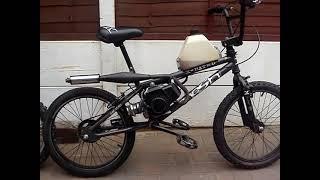 BMX - ENGINE POWERED - 50cc POCKET BIKE ENGINE