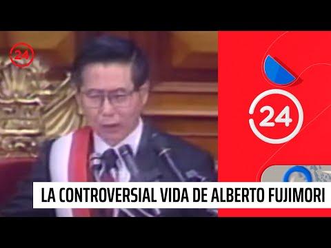 La controversial vida de Alberto Fujimori