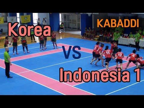 2018 Taiwan International Invitational Kabaddi Tournament (카바디) - Korea Vs Indonesia - 1