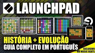 NOVATION LAUNCHPAD - MK1, MK2, PRO, MINI & APP (MANUAL PT/BR)
