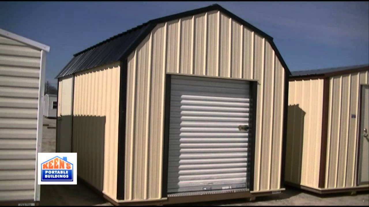 Barn Style Storage Building With Loft By Keens Portable