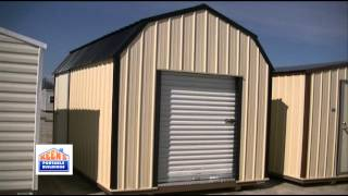 Barn Style Storage Building With Loft By Keens Portable Buildings
