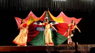 Aroti Dance Group Performance - Durga Puja 2014