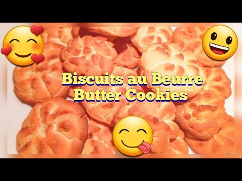 biscuits-au-beurre/-butter-cookies//recette-facile