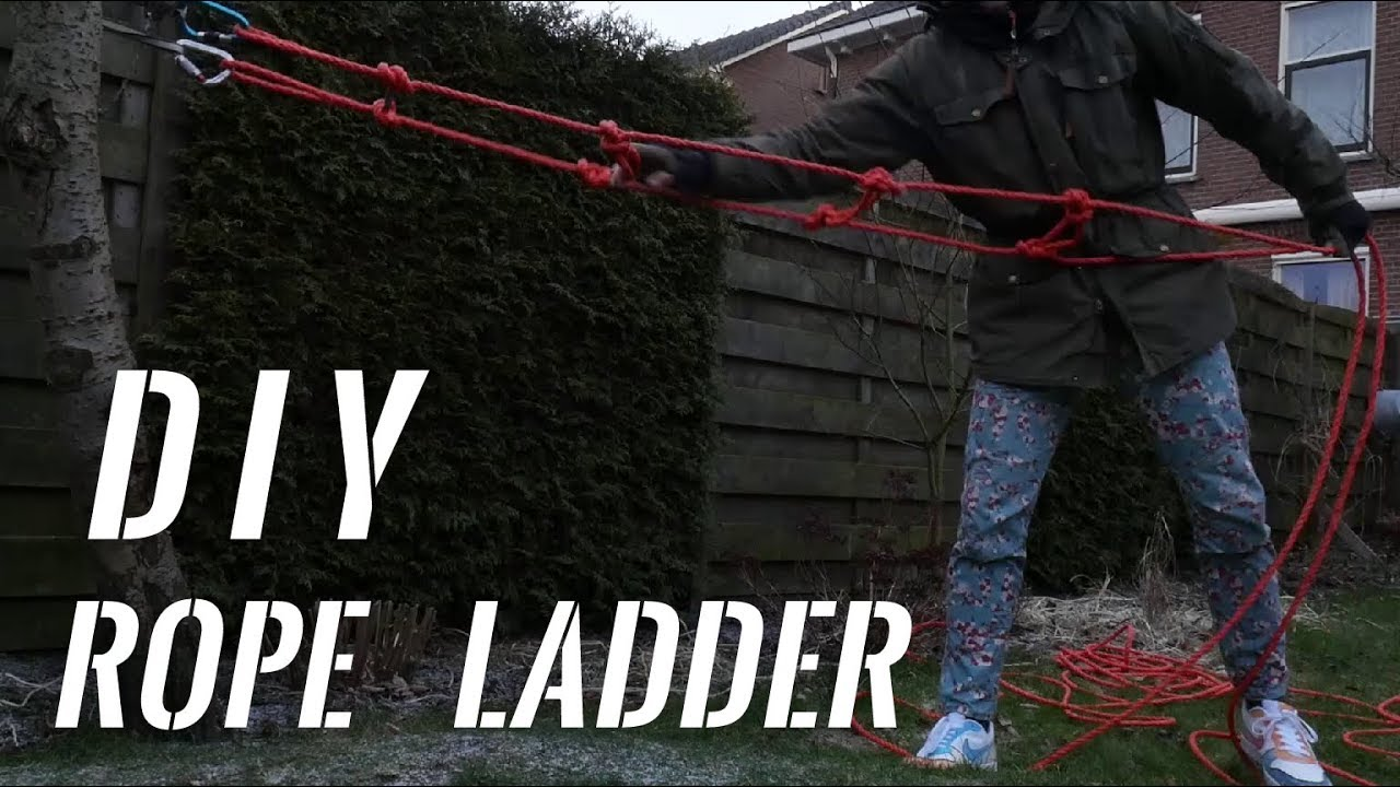 Diy Rope Ladder Only Made By Rope
