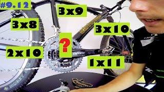 Rower górski - napędy: 3x8, 3x9, 3x10, 2x10, 1x11 - PRZETESTUJĘ WSZYSTKIE!