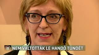 Nem váltották le Handó Tündét 19-06-11