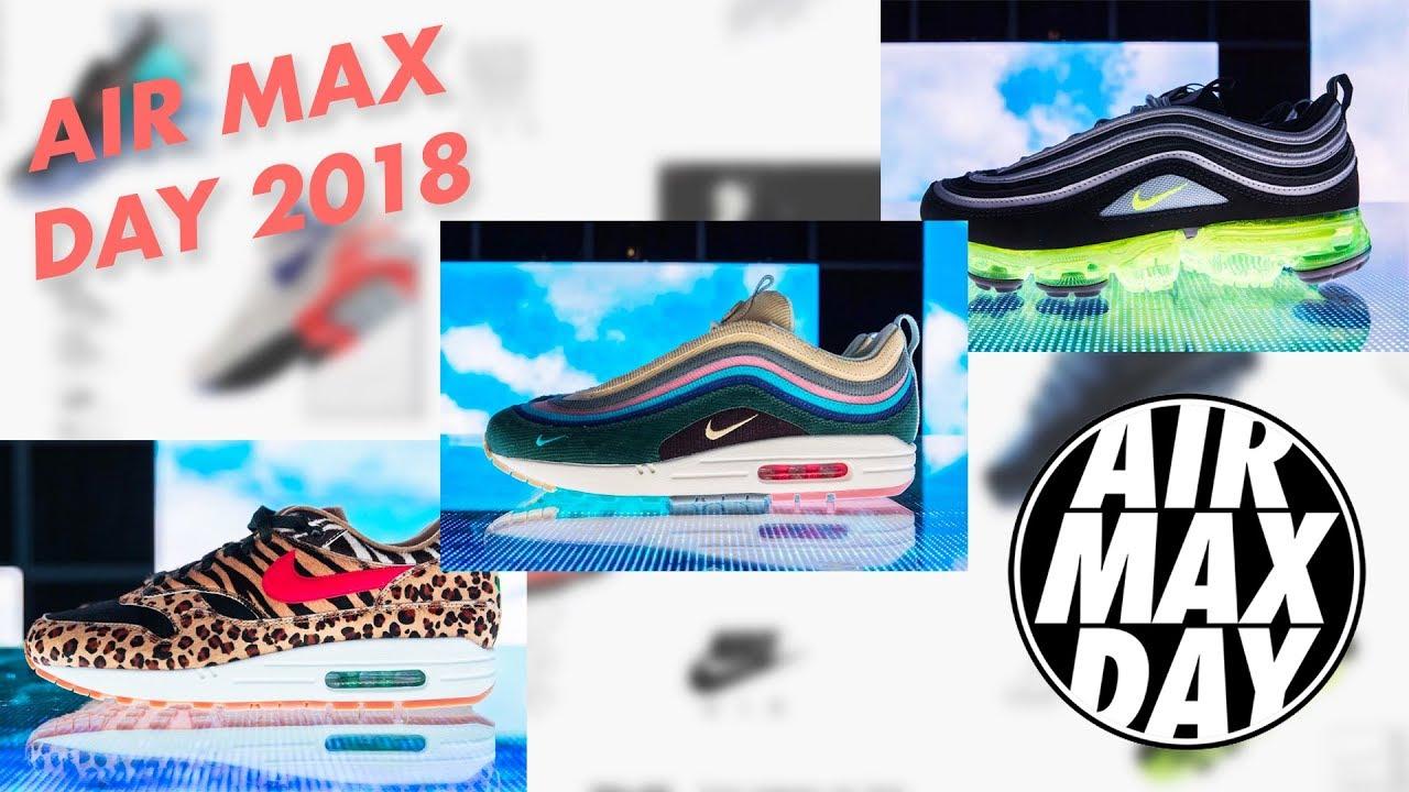 sale retailer 994d4 c09cc AIR MAX DAY 2018 | Vapormax Off White, Air Max 97...