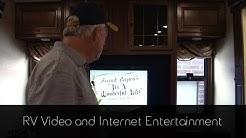 RV TV and Internet Entertainment