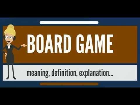 What Is Board Game What Does Board Game Mean Board Game