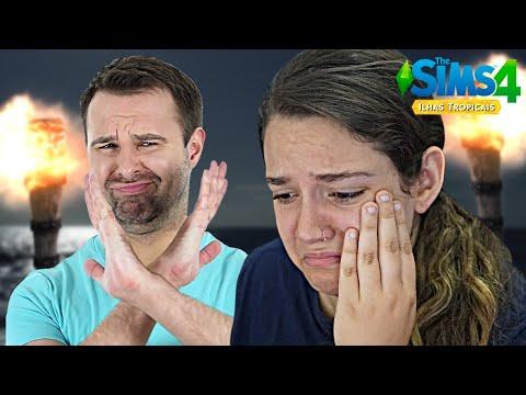 LEVEI UM FORA DO CRUSH! - The Sims 4 Ilhas Tropicais