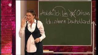 Anke Engelke - Deutsch für Ausländer