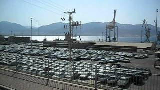 Израиль Эйлат От порта в сторону города