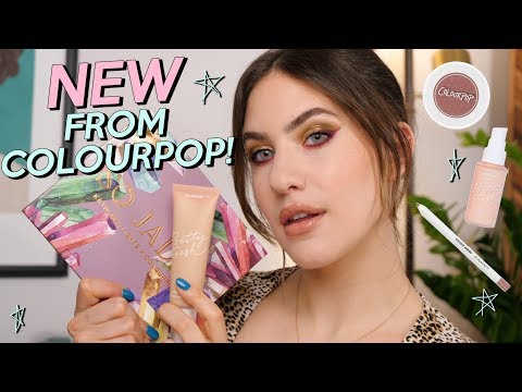 FULL FACE OF COLOURPOP! NEW So Jaded Palette & Pretty Fresh Foundation thumbnail
