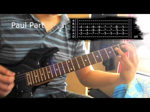 How to play Sonne (Tutorial Guitar)