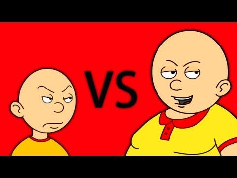 Caillou vs Fat Caillou