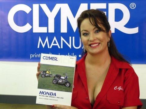 Clymer Manuals Honda 50-110CC CT90 Manual Trail 90 Manual S90 Manual Z50 Manual Video